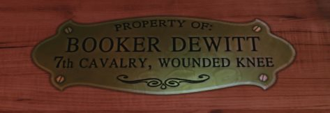Property of Booker Dewitt, 7th Cavalry, Wounded Knee